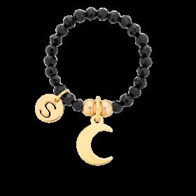 Pierścionek elastyczny Enchanted Moon