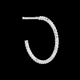 Kolczyk Dazzling Hoop Large Silver