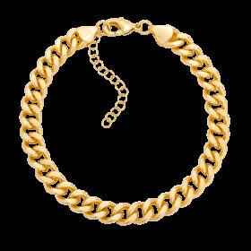 Bransoletka na kostkę z łańcuchem Kim Gold