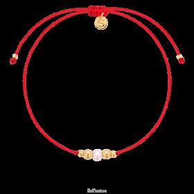 Bransoletka na szczęście Precious, czerwona linka