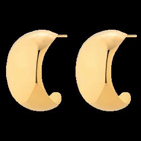 Kolczyki L.A. Hoops Gold
