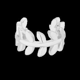 Kolczyk Top Leaf Silver