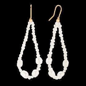 Kolczyki z perłami Pearl in Crown