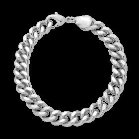 Bransoletka łańcuch srebrna