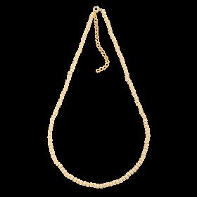 Naszyjnik złocony z kuleczek gold-filled