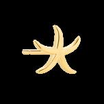 Kolczyk Mix and Match Starfish Gold