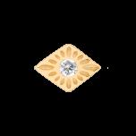 Kolczyk Mix and Match Boho Diamond Gold