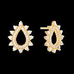 Kolczyki Mini Drops Gold