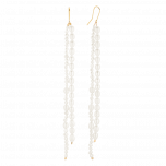 Kolczyki z perłami Winter Duo