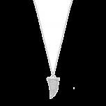 Naszyjnik Magic Horn Srebrny