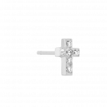 Kolczyk Mix and Match Cross Silver