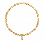 Bransoletka Full Moon Gold 3mm