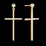 Kolczyki Simple Shine Gold