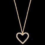 Naszyjnik Sweetheart Gold