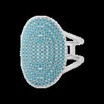 Pierścionek Island Turquoise Silver