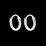 Srebrne kolczyki Hoop XS