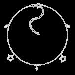 Bransoletka na kostkę Twinkle Silver