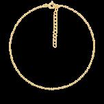 Bransoletka na kostkę Simply Dot Gold