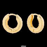 Kolczyki Gigi pozłacane