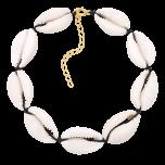 Bransoletka na kostkę z muszelkami