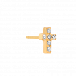 Kolczyk Mix and Match Cross Gold