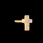 Kolczyk Mix and Match Cross Gold