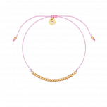 Bransoletka Casual Pastel Pink Gold
