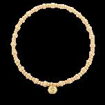 Bransoletka złocona z kuleczek gold-filled