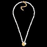 Naszyjnik perłowy z gwiazdką