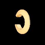 Kolczyk zaciskany nausznica ze złoconego mosiądzu